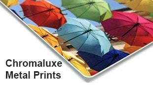dye sublimation chromaluxe metal prints
