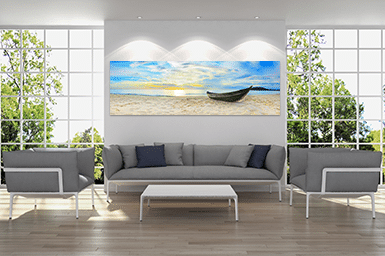 Home Decor - Panoramic Acrylic Print Above Couch
